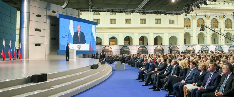 President Putin delivers annual address to Federal Assembly of Russia